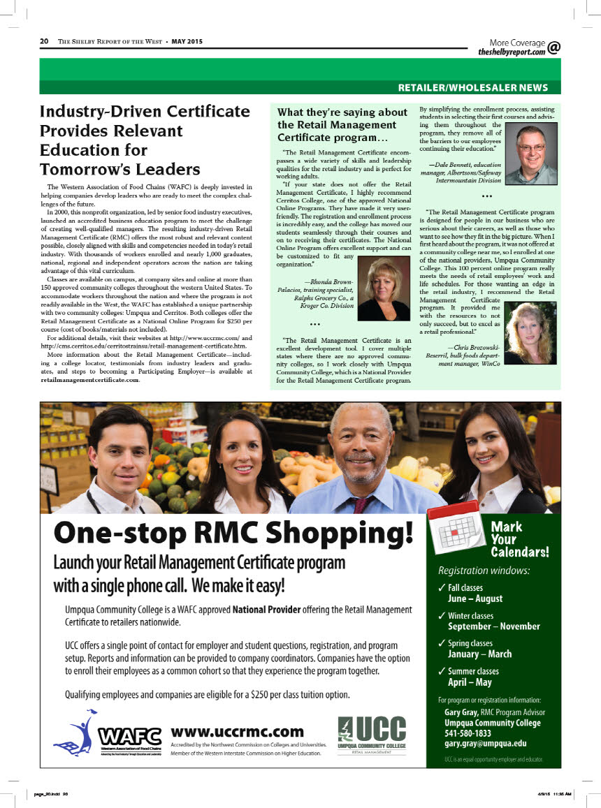 certificate retail management wafc featured industry posted bookmark entry