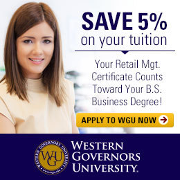 Continue Your Education - Old - Retail Management Certificate
